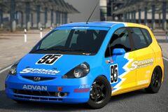 Spoon FIT Race Car '03