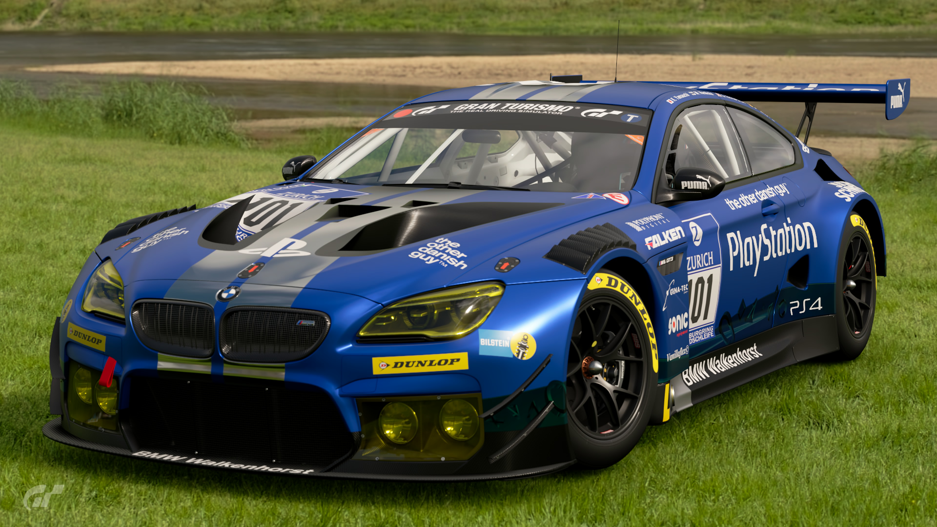 bmw m6 gt3 walkenhorst motorsport 39 16 gran turismo wiki fandom powered by wikia. Black Bedroom Furniture Sets. Home Design Ideas