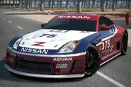 Nissan 350Z Concept LM Race Car (GT6)