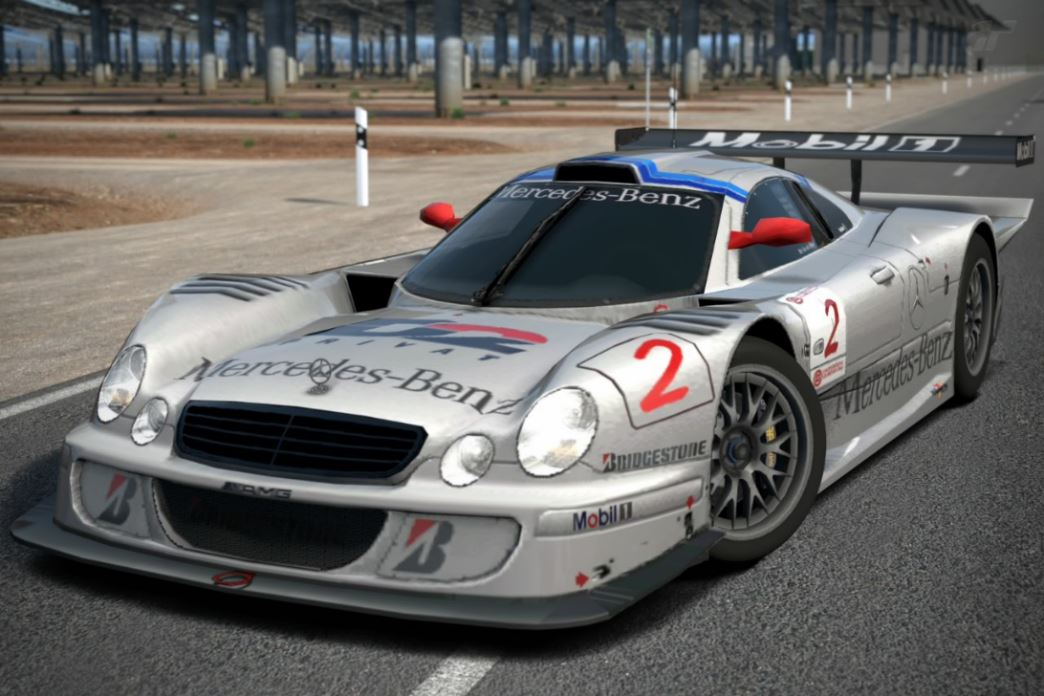 Marvelous Mercedes Benz CLK GTR Race Car U002798