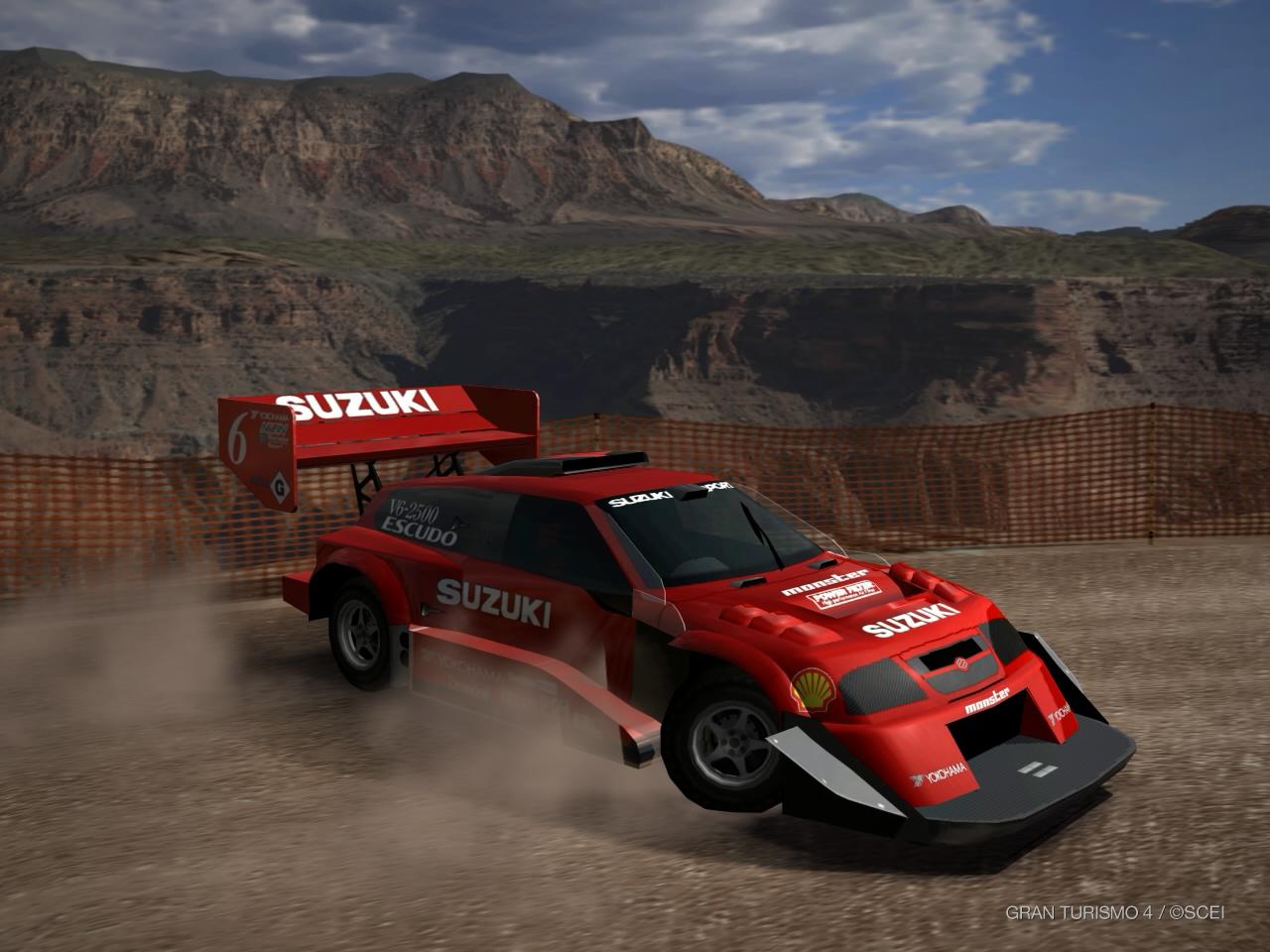 Suzuki ESCUDO Dirt Trial Car \'98 | Gran Turismo Wiki | FANDOM ...