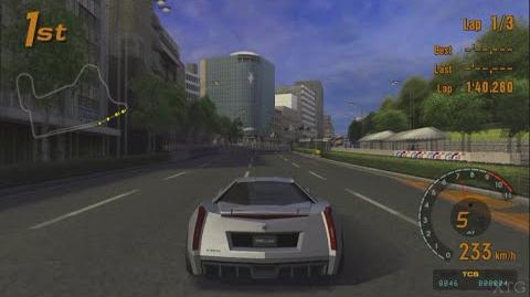 Gran Turismo Concept 2002 Tokyo-Geneva - Cadillac Cien PS2 Gameplay HD