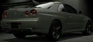 Nissan SKYLINE GT-R V • spec II Nür (R34) '02 (Back)