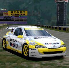Opel Tigra Ice Race Car