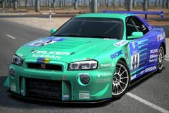 Nissan FALKEN☆GT-R Race Car '04
