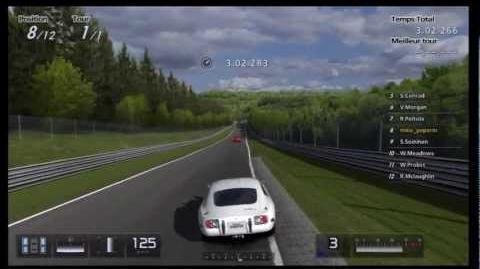 GT5 Seasonal Expert Level 24h Nurburgring 400PP, using 287PP Toyota 2000GT '67