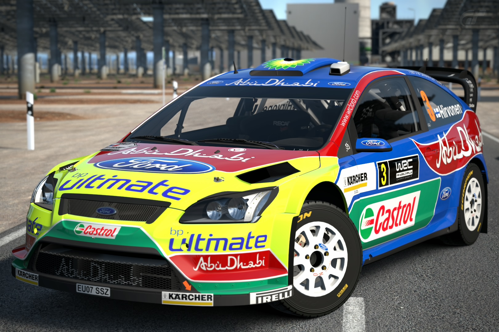 Ford Focus Rs Wrc 07 08 Gran Turismo Wiki Fandom Powered By Wikia