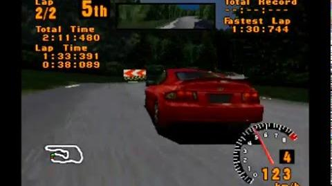 Gran Turismo 1 013 - SPECIAL EVENTS - FF Challenge - Race 1 3 Deep Forest II