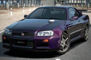 Nissan SKYLINE GT-R Special Color Midnight Purple III (R34) '00