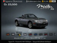 Mazda MX-5 Miata 1800 RS (NB, J) '04