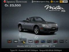 Mazda MX-5 Miata 1800 RS (NB, J) '04