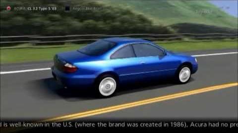 Acura CL 3