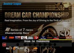 Dream Car Championship (Amateur)