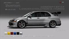 Mitsubishi Lancer Evolution IX Tuned