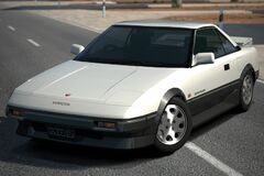 Toyota MR2 1600 G-Limited Supercharger '86