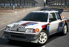 Peugeot 205 Turbo 16 Evolution 2 Rally Car '86