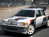 Peugeot 205 Turbo 16 Evolution 2 Rally Car '86