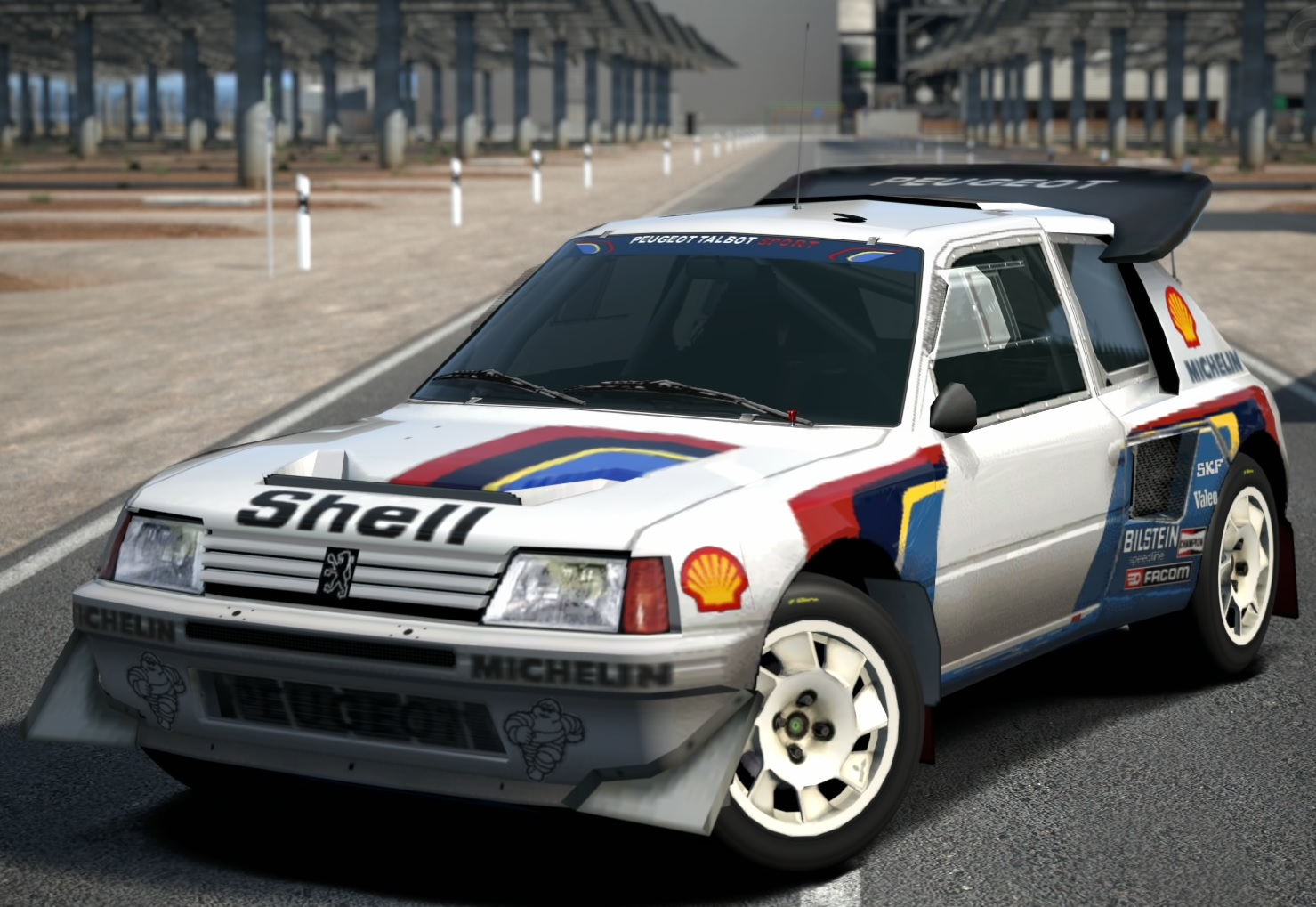 Honda Accord Sport >> Peugeot 205 Turbo 16 Evolution 2 Rally Car '86 | Gran Turismo Wiki | FANDOM powered by Wikia