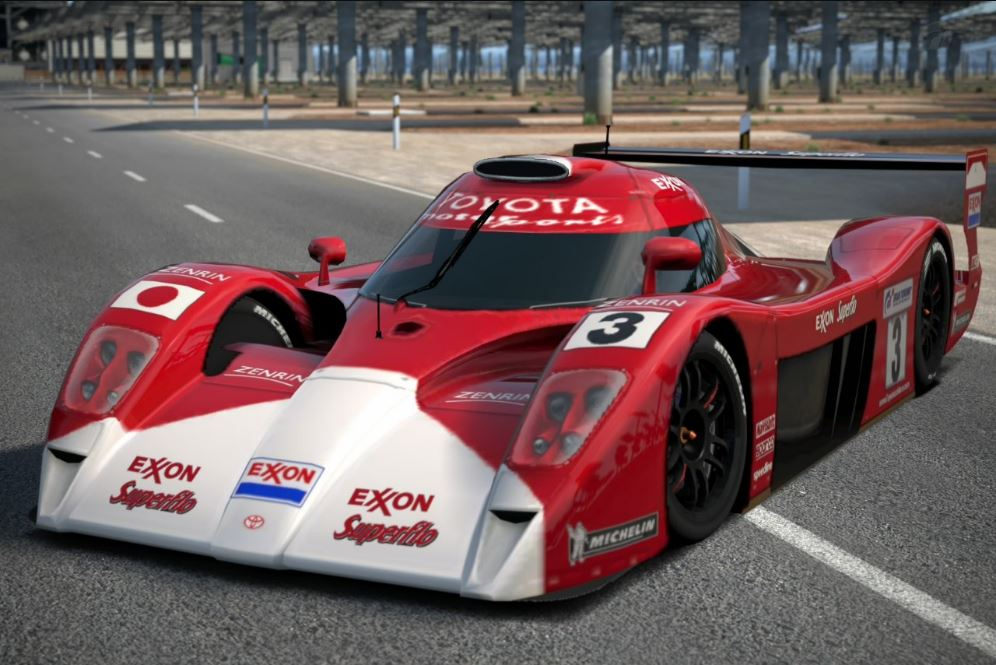 image toyota gt one race car ts020 39 99 exxon superflo jpg gran turismo wiki fandom. Black Bedroom Furniture Sets. Home Design Ideas