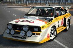 Audi Sport Quattro S1 Rally Car '86