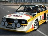 Audi Sport quattro S1 Rally Car '86