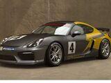Porsche Cayman GT4 Clubsport '16