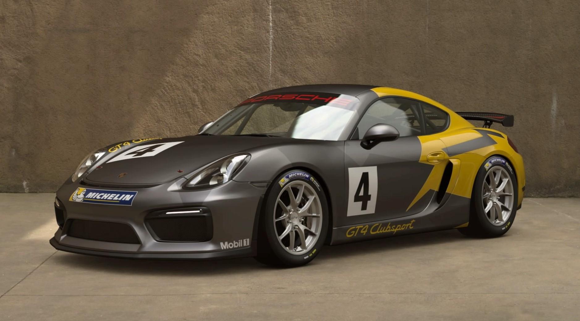 Porsche Cayman GT4 Clubsport '16 | Gran Turismo Wiki | FANDOM ...