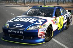 2011 Jimmie Johnson ♯48 Lowe's CHEVROLET IMPALA '11