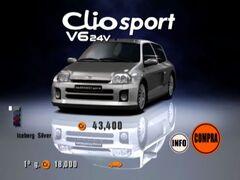 Clio Renault Sport V6 24V '00