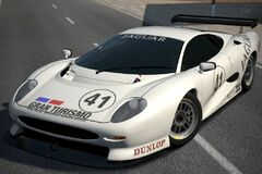 Jaguar XJ220 LM Race Car