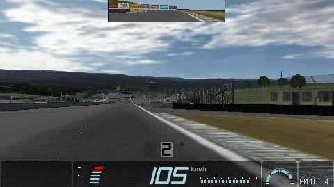 9-0 Gran Turismo PSP Laguna Seca Time Trial Replay MINOLTA Toyota 88C-V Race Car '89