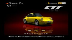"RUF CTR ""Yellow Bird"" '87"