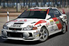 Mitsubishi Lancer Evolution IV Rally Car '97