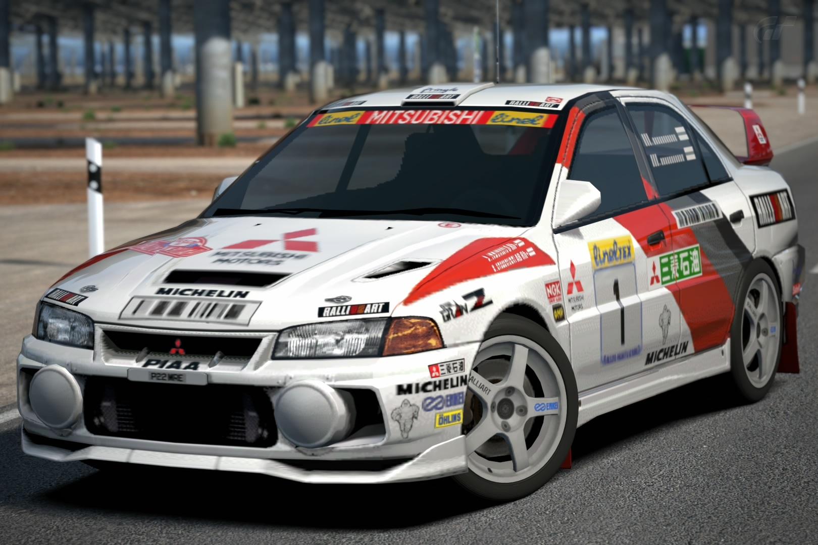 Mitsubishi Lancer Evolution Iv Rally Car 97 Gran Turismo Wiki
