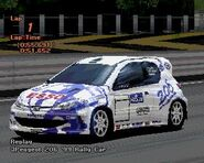 Peugeot 206 Rally Car '99 (GT2, Esso)