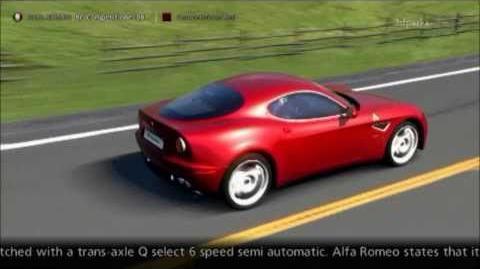 Alfa Romeo 8C Competizione '08