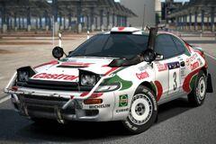 Toyota CELICA GT-FOUR Rally Car (ST185) '95