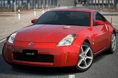 Nissan 350Z (Z33, US) '03 (GT6)