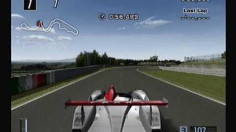 Gran Turismo 4, 444 of 708 cars- 2001 Audi R8 Race Car