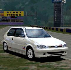 Peugeot 106 1.6 Rallye