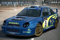 Subaru IMPREZA Rally Car '01
