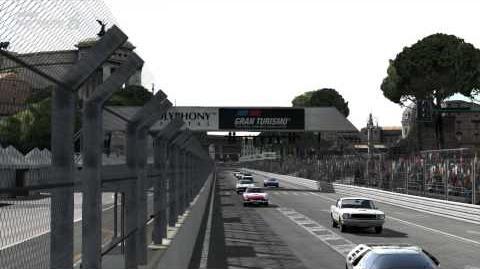 【GT6】 TOYOTA 2000GT 国際Bクラス:クラシックスーパーカー・フェスティバル:ローマ市街地コース