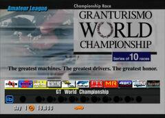 Gran Turismo World Championship (Amateur)