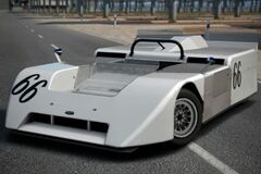 Chaparral 2J Race Car '70