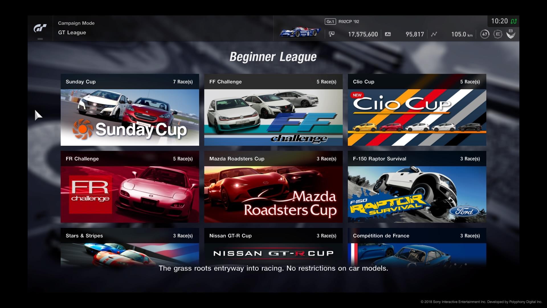 Beginner League GT Sport Gran Turismo Wiki