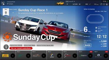Gran Turismo®SPORT Sunday Cup events