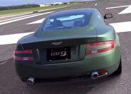 Aston Martin DB9 Coupe '06 - Rear