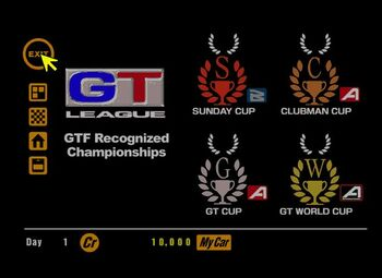 GT1 GT League