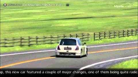 Renault Sport Clio Renault Sport Trophy V6 24V Race Car '00-0