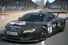 Audi R8 LMS Race Car (Team PlayStation) '09